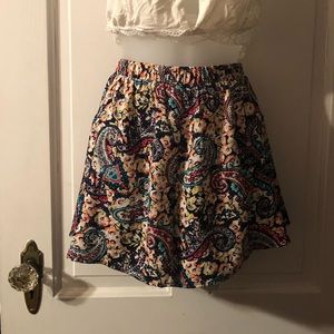 NWT Shorts Multi Colored Floral